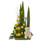 GF01 - Flowers and Teddy - $100.00 to $150.00
